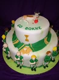 Rugby Kids Party Cake