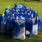 Kids Soccer Party Table