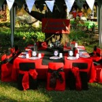 Pirate table for kids party