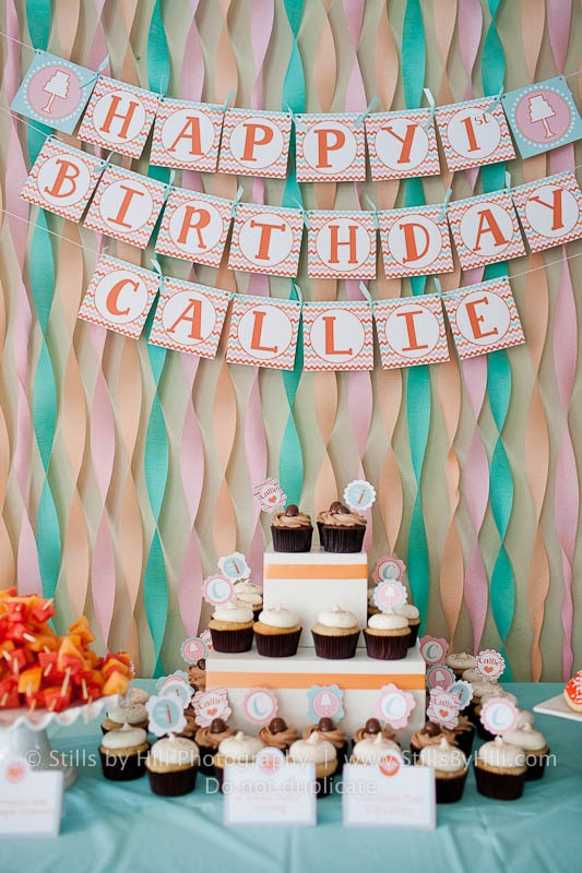 backdrop for the cake  Hassle-Free Kids Party