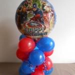 Avengers Birthday Party Balloon decor