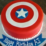 Avengers Birthday Party Cake