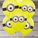 Minions (Despicable Me) party balloons