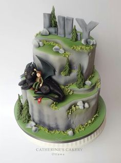 Fabulous How To Train Your Dragon Birthday Cake Hassle Free Kids Party Personalised Birthday Cards Beptaeletsinfo