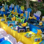 Minions (Despicable Me) party table